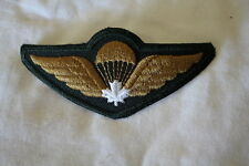Canadian Forces Airborne Para White Leaf Garrison Wing Full Size