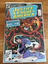 1986 Justice League of America # 255 DC Comic, Nightmare..., Bagged and Boarded