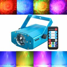 Mini Auto/Sound Activated Laser Projector Stage Light LED RGB Effect Party Light
