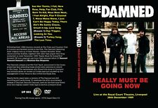 THE DAMNED 'Really Must Be Going Now' 40th Anniversary Special DVD Release Rare