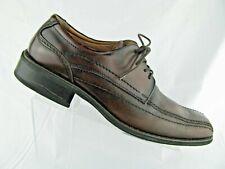Men's Brown Leather Jeffrey Tyler Dress Shoes Sz 13M Boyd