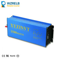 12V to 240V Power Inverter Pure Sine Wave Inverter 1500W Solar  Battery Backup