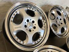 Brabus Jantes 8,5+9,5 X 18 Mercedes R170 W208 W209 R129 Sl W124 E500 E60 AMG