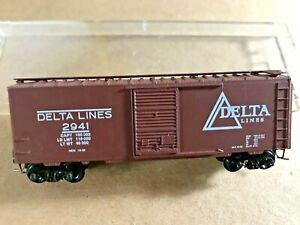 """1993 Microtrains 93-43 Heritage #3 special run """"Delta Lines"""" 40' boxcar, NIB"""