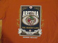 Arizona AZ the Desert Life Green Valley T Shirt Size L