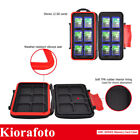 Kiorafoto Memory Card Case Protector Holder Keeper for 12 SD SDXC SDHC Cards