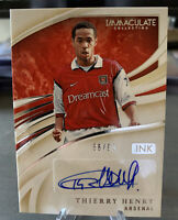 Immaculate Ink Soccer Thierry Henry Autograph 56/99 2020