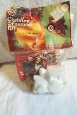 Vintage Walco Christmas Ornament Kit # 3465 Jolly Choo Choo