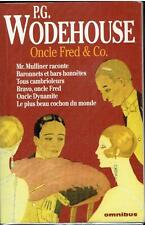 ONCLE FRED & CO. / P.G. WODEHOUSE éditions OMNIBUS