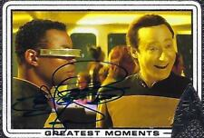 LEVAR BURTON SIGNED 2017 STAR TREK 50TH GREATEST MOMENTS #91 - GEORDI LA FORGE