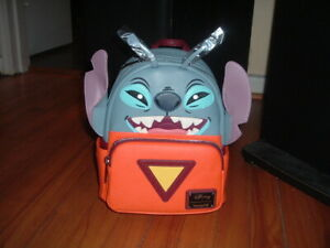 LOUNGEFLY DISNEY STITCH 626 MINI BACKPACK~ WITH TAGS~BRAND NEW~