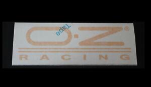 O.Z. Racing OZ Racing Felgen Aufkleber Sticker Decal Bapperl Autocollant Logo ge