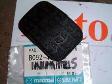Pedal rubber, brake or clutch, genuine Mazda MX-5 mk1, mk2 & mk2.5, MX5, 1989-05