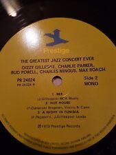 the greatest jazz concert ever 1973  prestige issue double vinyl lp  near mint-