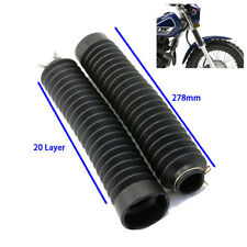 For Yamaha TW200 TW225 Suzuki VV200 Extend Fork Tubes Dust Cover Gaiters guard