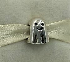 Genuine Pandora Sterling Silver Ghost Halloween Charm 790202 - NEW Retired