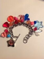 MOSCHINO CHARM BRACELET WATCH Time For Holidays bnwt free post (d)