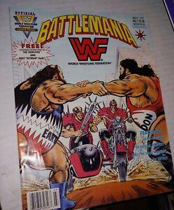 WWF Battlemania #5 FN; Valiant Mar 1992