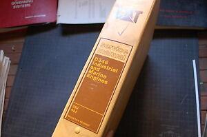 CAT Caterpillar D346 Marine Diesel Engine Repair Shop Service Manual owner book