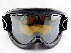 Electric EG1K Kids Snow Goggle Gloss Black - Bronze/Silver Chrome Lens