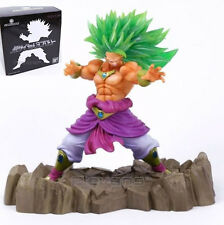 "DRAGON BALL/ FIGURA SUPER SAIYAN 3 BROLY 17 CM- HYBRID GRADE 6,7"" WITH BOX"