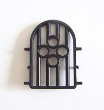 PLAYMOBIL (L3108) MOYEN-AGE - Grille Noire pour Fenêtre Château Maison Vintage