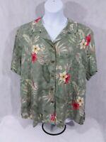 Women's 3X Jamaica Bay Short Sleeve Shirt