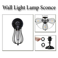 Wall Lamp Modern Retro Vintage Industrial  Mounted Lights Sconce Fixture Uk
