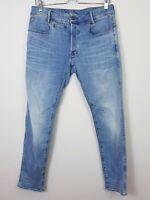 G STAR RAW Mens Size 32 D-Staq 5-Pocket Slim Denim Jeans (Aus Seller)