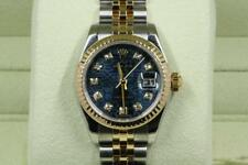 Rolex Lady-Datejust 179173 Blue Jubilee Diamond Dial 2006 Model