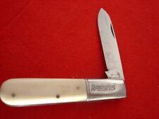 "Remington Made in Germany 3-3/8"" Bone Barlow Jack Knife"