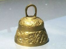 English church Ornate Brass bell, sheep. Eagle Pelican Lion made on England