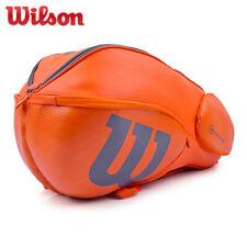 Wilson Vancouver Tennis Bag Badminton Racquet Backpack 9 Pack Orange Wrz-849709