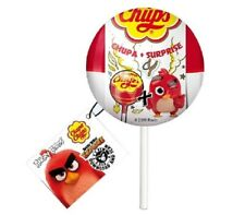 Chupa Chups Surprise Rovio Angry Birds 2 Lollipop Candy 11g & 1 pic Toy Figure