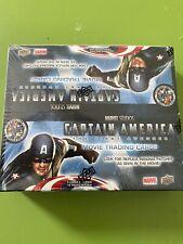 Upper Deck Captain America The First Avenger Unopened Box