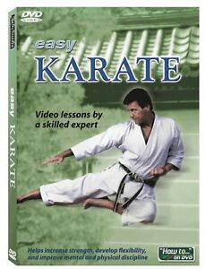 LEARN KARATE   Instructional Video DVD   Video lessons by a skilled expert  New