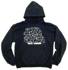 vtg TOKYO HARDCORE hoodie SWEATSHIRT metal HxC sz L straight edge VEGAN graffiti