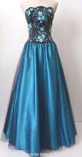 ALFRED ANGELO rrp $1500.00 Size 8 - 10 US 4 - 6 Strapless Beaded Evening Dress