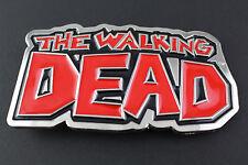 THE WALKING DEAD METAL BELT BUCKLE COMIC BOOK  AMC