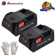 2x 18V 4.0Ah Hyper Lithium-Ion Battery Pack For RIDGID R840087 R840085 R840083