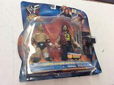 NEW WWF WWE Famous Scenes Jakks Series 2 No Way Out Triple H Cactus Jack