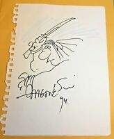 Groo sketch drawing by Sergio Aragones Mad Magazine Wanderer original art