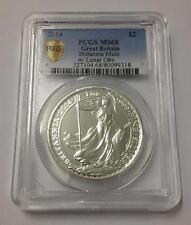 Britannia Rare Mule Error w/ Lunar Obverse 2014 1 oz 999 Silver Coin - PCGS MS68