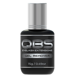 QBS® Gel Type Glue Remover 15ml - Eyelash Extensions