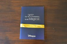 Invitation Evenement presse Disneyland Paris 20ème extended