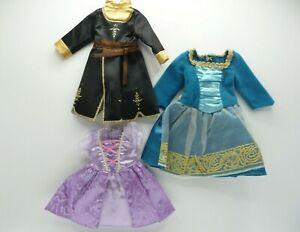 DISNEY my first Princess Toddler Doll DRESSES mixed lot