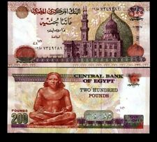 EGYPT 200 POUNDS P68 2007 MOSQUE UNC MIDDLE EAST AFRICAN MONEY BILL BANK NOTE