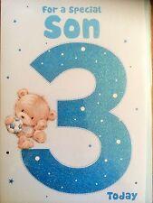Son 3rd Birthday Card.