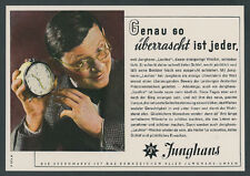 """AGFACOLOR JUNGHANS montres réveil """"silencieux"""" chronomètre de précision Schramberg 1944"""