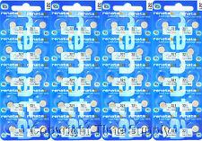 40 pcs 321 Renata Watch Batteries SR616SW SR616 0% MERCURY